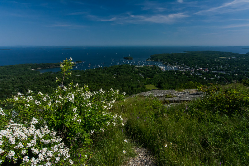 Camden, Maine from Bald Mountain