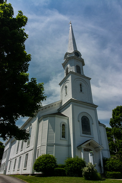 Chestnut Street Baptist Church, Camden, ME