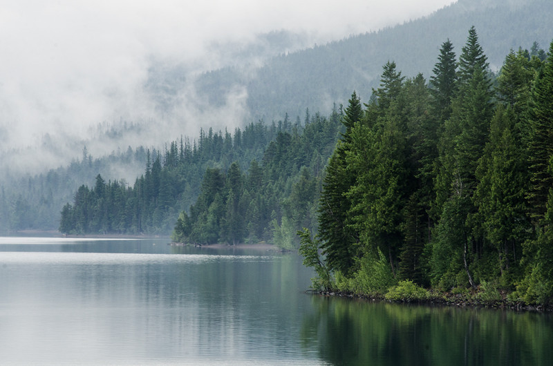 WAa1229 - Lake McDonald Sunrise, Glacier NP, Montana