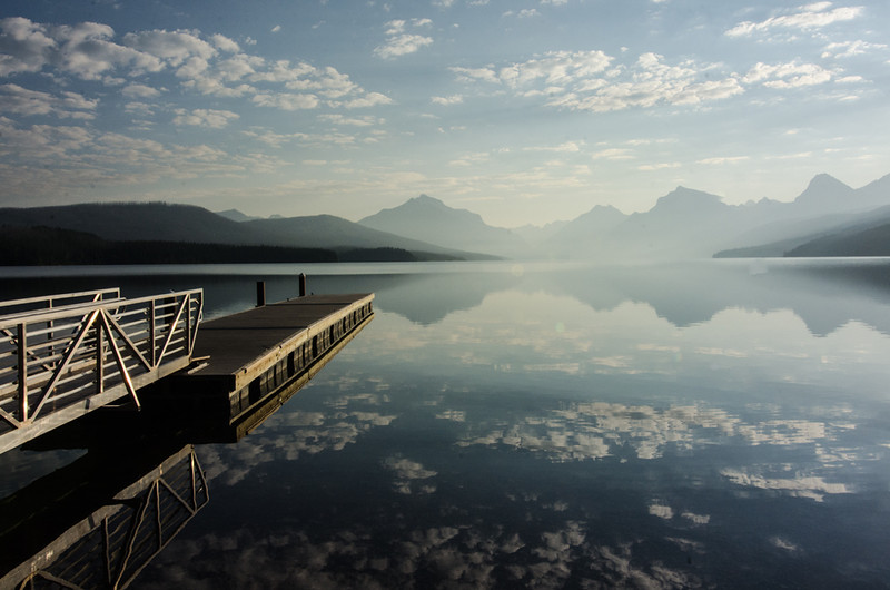 WAa747 - Lake McDonald Sunrise, Glacier NP, Montana