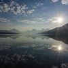 WAa755 - Lake McDonald Sunrise, Glacier NP, Montana