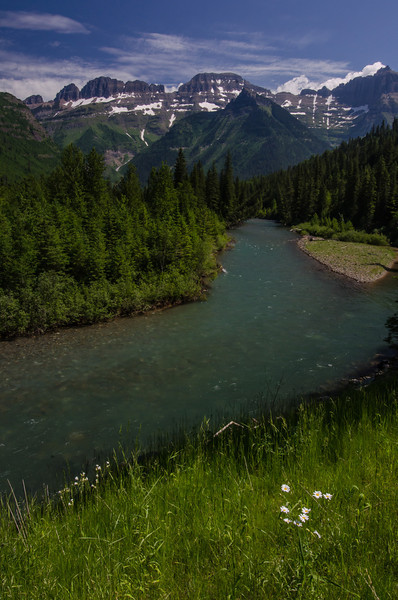 WAa503 - McDonald Creek, Glacier NP, Montana