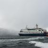 WAb2031 Via Australis, Zodiacs Returning to Ship, Almirantazgo Bay, Chile