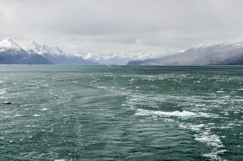 WAb1386 Ice in Ainsworth Bay, Patagonia, Chile