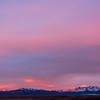 WAb1703 Sunrise, Andes Mtns, La Anita Valley, El Calafate, Argentina