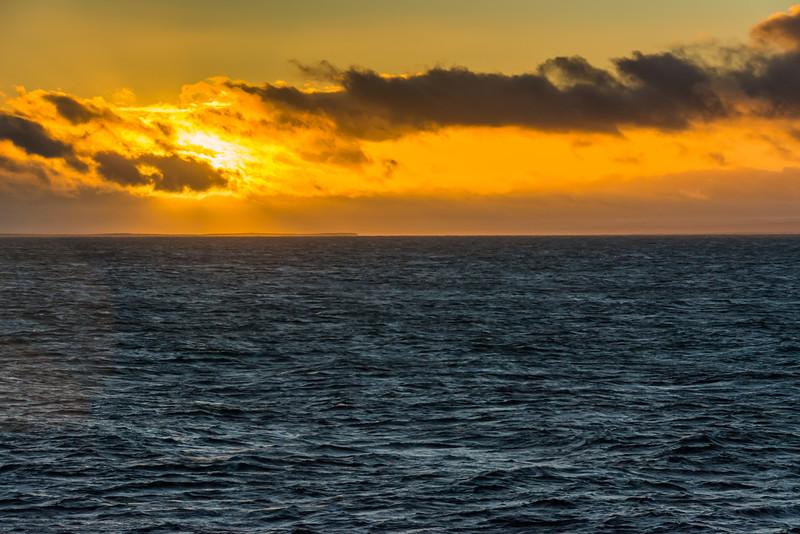 WAb937 Sunrise, Straight of Magella, Chile