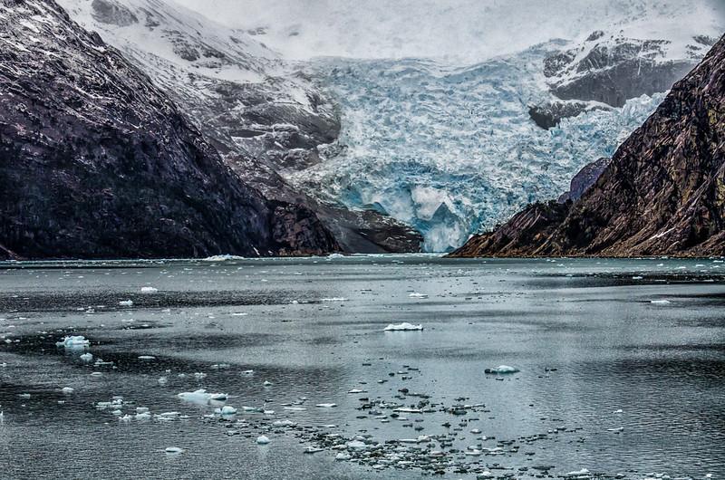 WAb1497 Marinelli Glacier, Alberto De Agostini NP, Ainsworth Bay, Patagonia, Chile