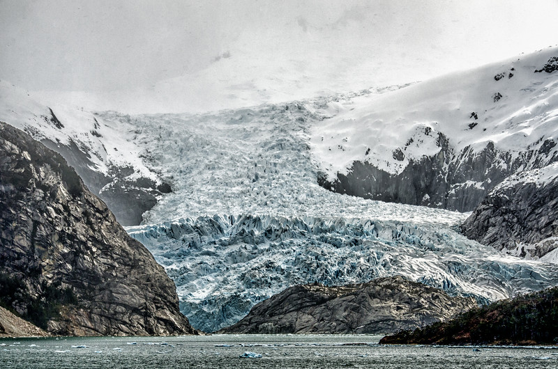WAb1353 Marinelli Glacier, Alberto De Agostini NP, Ainsworth Bay, Patagonia, Chile
