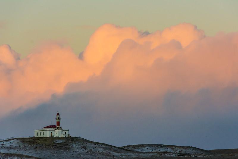 WAb918 Lighthouse, Magdalena Island, Straight of Magella, Chile