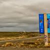 WBb2034 Road Sign, Patagonia, Argentina
