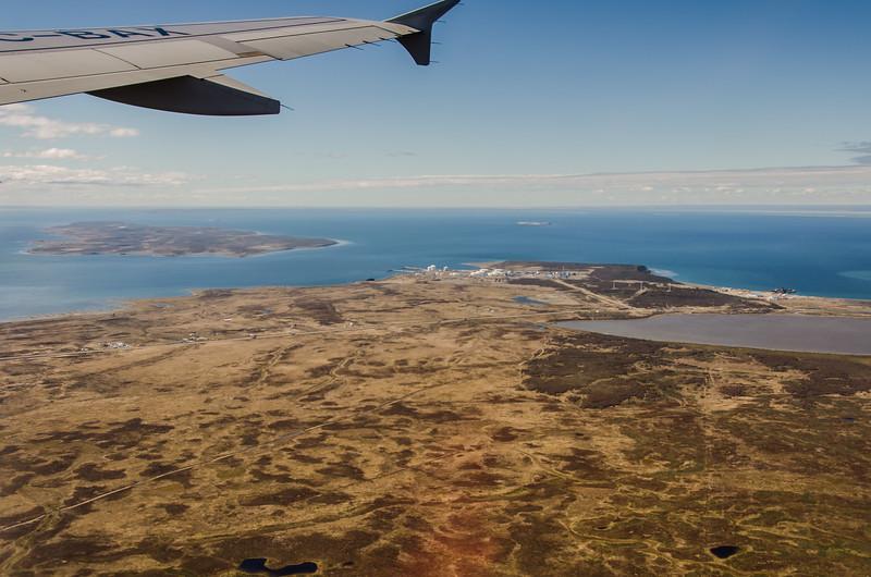 WAb2414 Patagonian Steppe Aerial, Punta Arenas, Chile