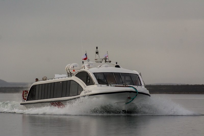 PB314 Tour Boat, Last Hope Sound, Patagonia, Chile