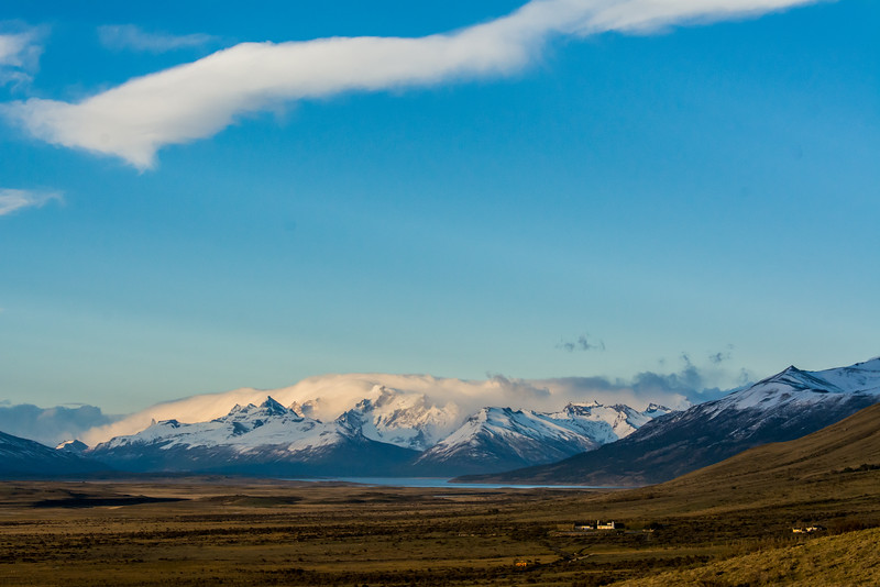 WAb1136 Sunrise, El Calafate, La Anita Valley, Andes Mtns, Argentina