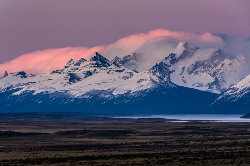 WAb999 Sunrise, El Calafate, La Anita Valley, Andes Mtns, Argentina