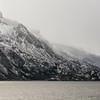 WAb569  Via Australis Cruise Ship Zodiac, Almirantazgo Bay, Darwin Range, Patagonia, Chile