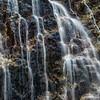 WAb672 Glacial Waterfall, Darwin Range, Almirantazgo Bay, Patagonia, Chile