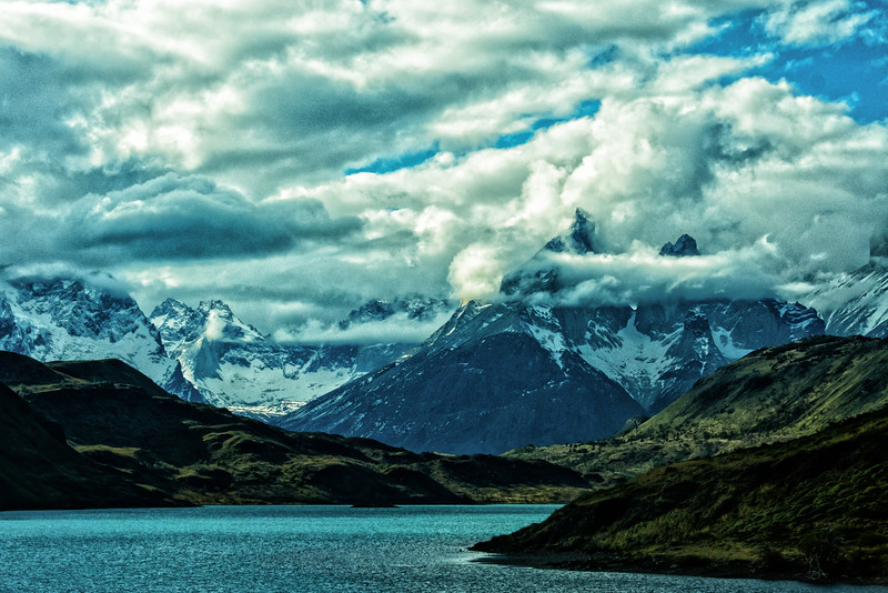 WAb2358 Lake Grey & Paine Massif, Torres del Paine NP, Chile