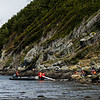 PB263 Trekkers Landing on Shore, Alberto De Agostini NP, Almirantazgo Bay, Patagonia, Chile