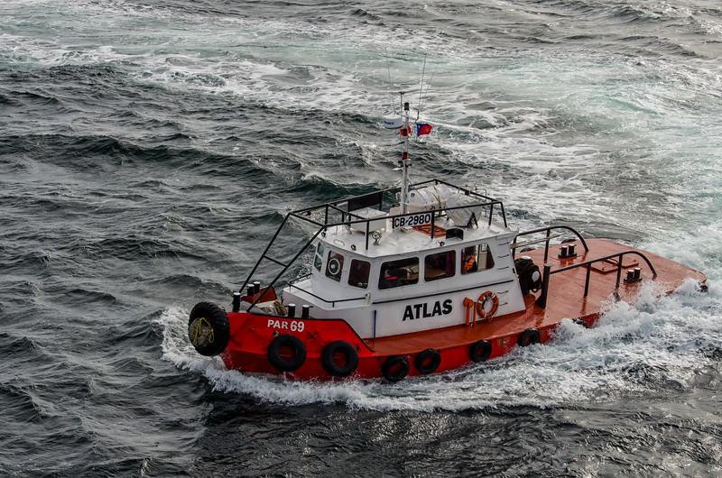 WBb1922 Tugboat, Punta Arenas Port, Punta Arenas, Chile