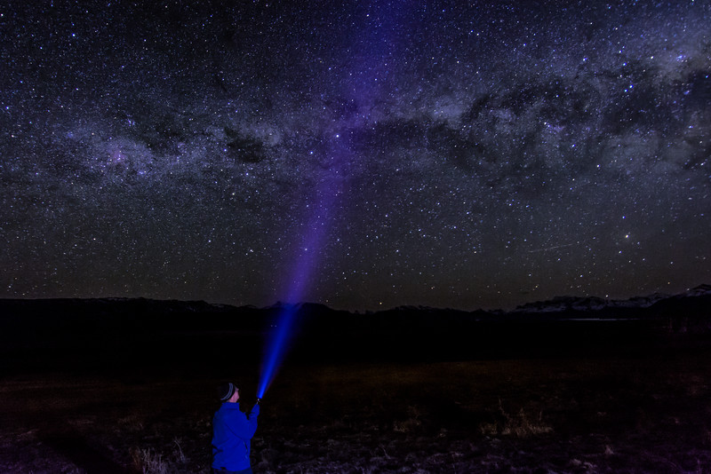 WAb1676 Milky Way, El Calafate, Patagonia, Argentina