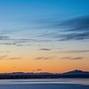 WAb2413 Sunrise over Puerto Natales and Last Hope Sound, Chile