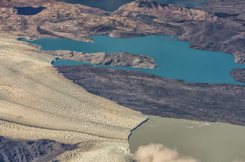 WAb2460 Bruggen Glacier Aerial, Tidewater Glacier, Southern Patagonian Ice Field, Chile