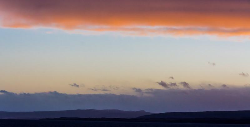 WAb504 Sunset, Almirantazgo Bay, Patagonia, Chile