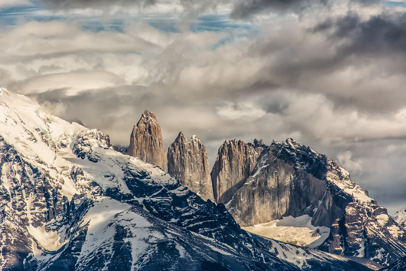 WAb2094 Paine Massif, Torres del Paine NP, Chile