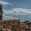WBb626 - Midieval Houses, Siena, Italy