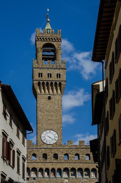 WBb107 - Gli Uffizi Bell Tower, Florence, Italy