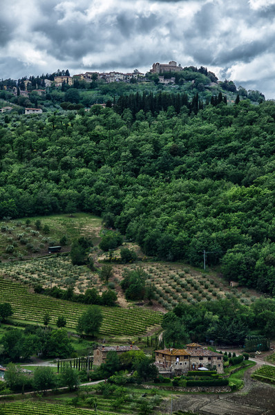 WBb1235 - Hill Town, Tuscany, Italy