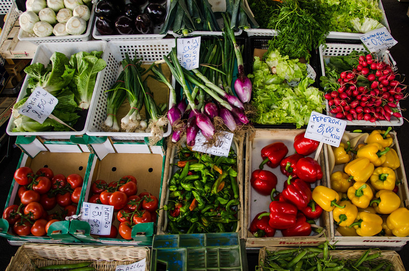 WBb197 - Street Produce, Florence, Italy