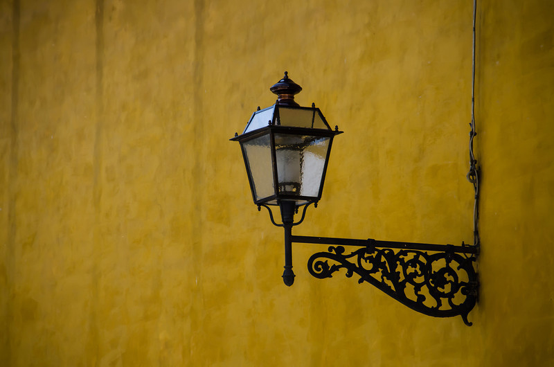 WBb170 - Street Lamp, Florence, Italy