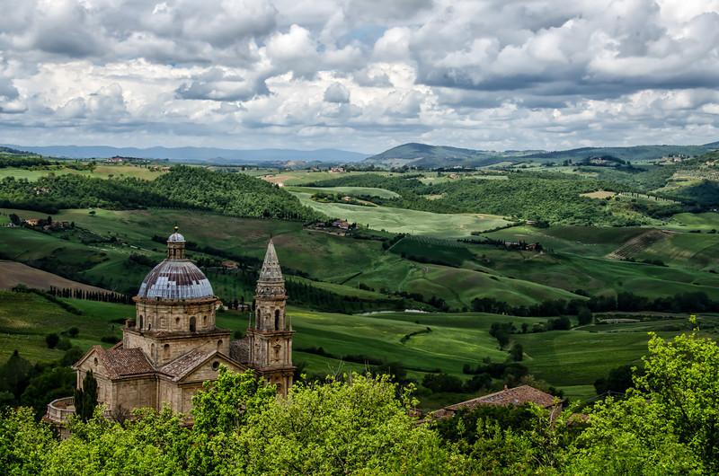 WBb1409 - Sanctuary of Madonna di Biagio, Montepulciano, Italy