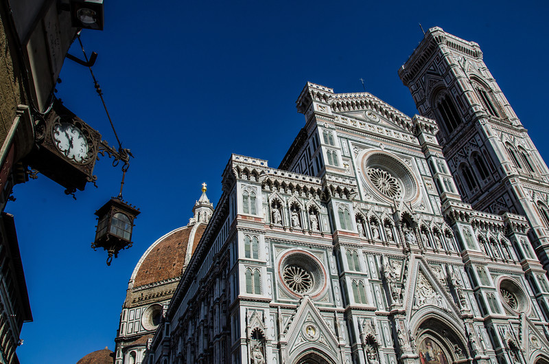 WBb427 - Campanile and Duomo Florence, Italy