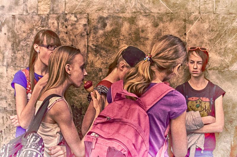 PB102 - Students, Siena, Italy