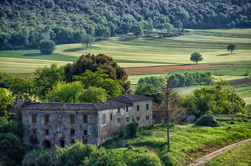 WAb1002 - View form Monteriggioni, Tuscany, Italy