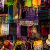 WBb103 - Street Vendor, Scarfs, Florence, Italy