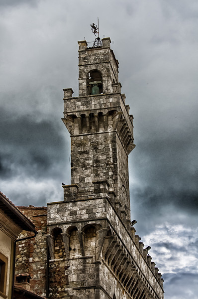 WBb1390 - Church Tower, Cortona, Italy