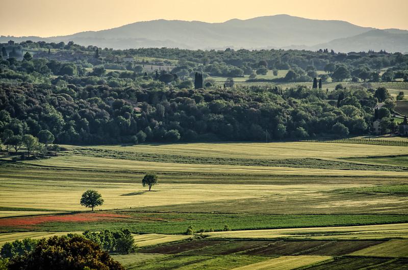 WAb55 - View from Monteriggioni, Tuscany, Italy