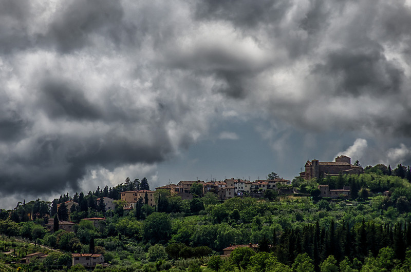 WBb1194 - Hill Town, Tuscany, Italy