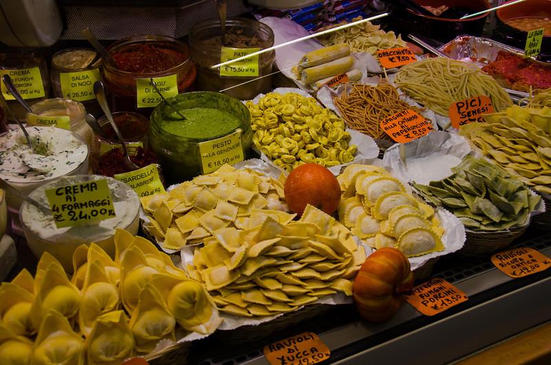 WBb231 - Pasta Shop, Florence, Italy