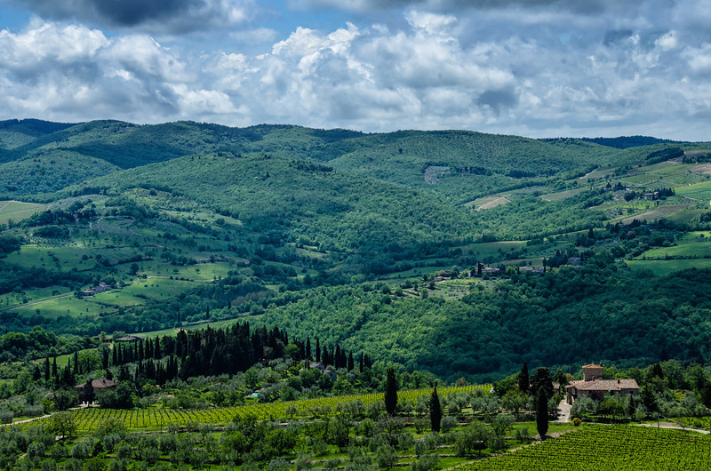 WAb125 - View from Montepulciano, Italy