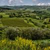 WAb103 - View form Monteriggioni, Tuscany, Italy