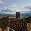 WBb1425 - Rooftops, Cortona, Italy