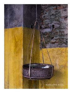 Basket In A Corner