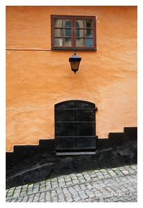 Stockholm Door, Lamp & Window