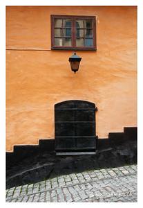 Stockholm Door, Lamp & Window