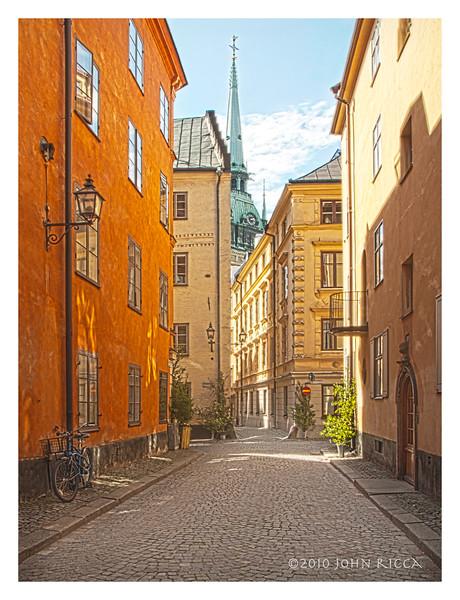 Stockholm Street Scene