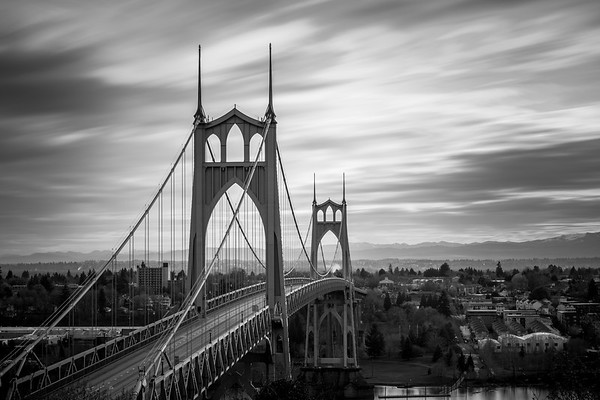 St Johns Bridge Over Cathedral Park